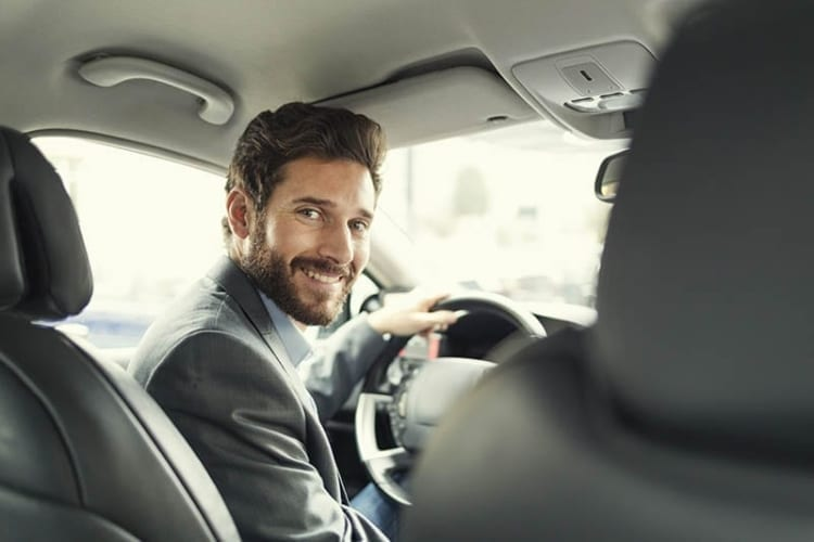 Uber driver after collecting his signup bonus.
