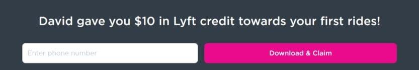 Lyft First Free Ride Code