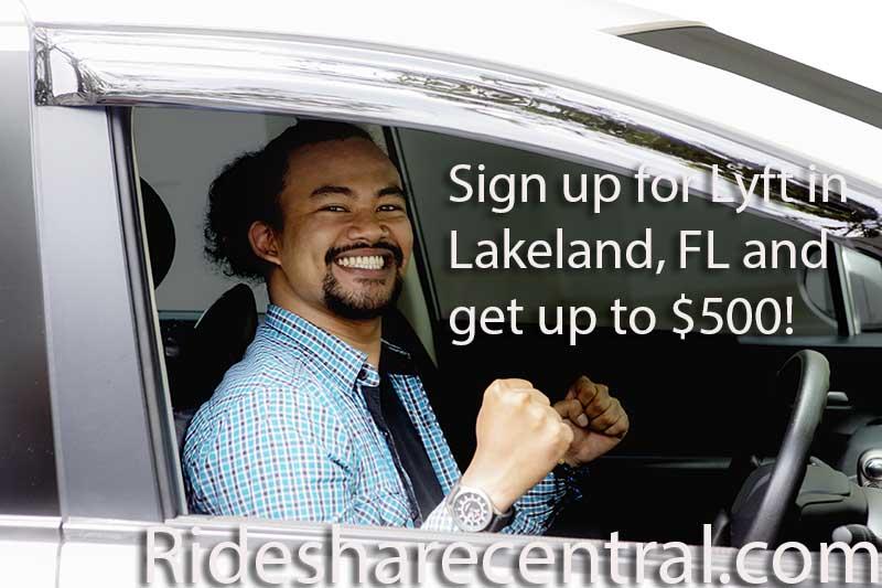 Drive With Lyft in Lakeland, FL