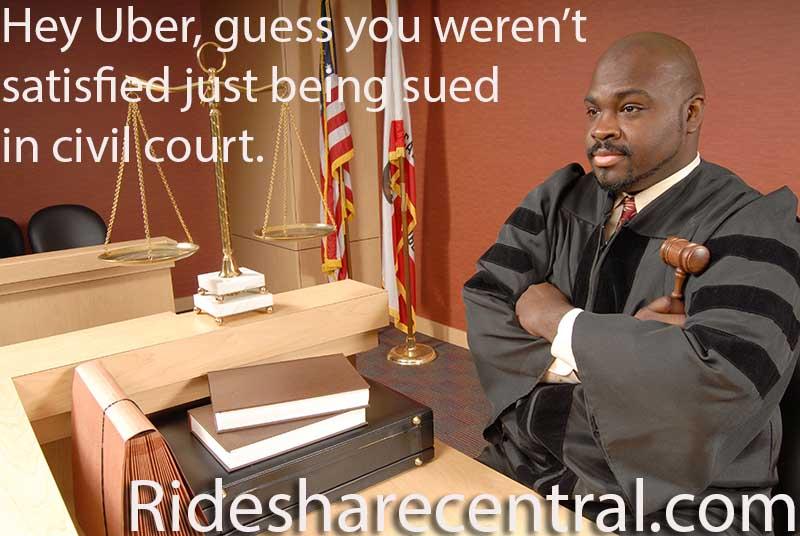 Criminal probe of uber