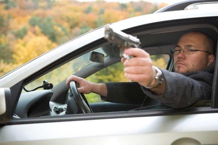 uber driver road rage