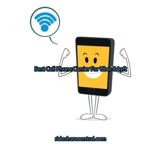 best cell phone carrier for uber or lyft
