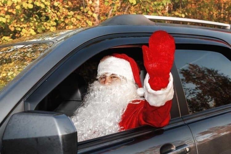 driving uber on christmas