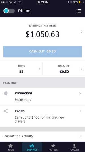 uber denver weekly earnings