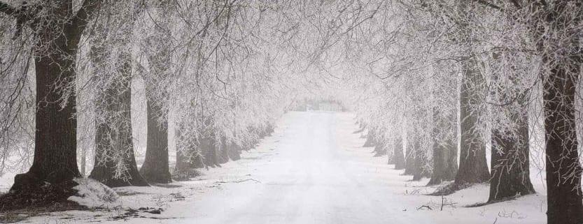 driving uber or lyft in winter