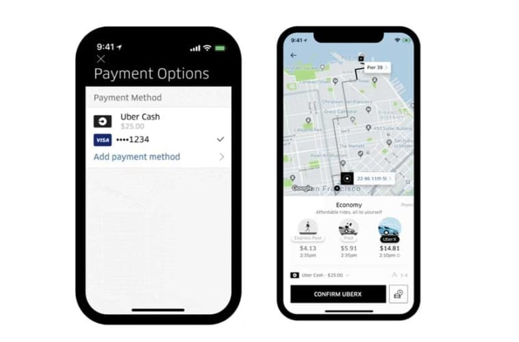 Uber Cash - How To Use