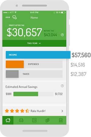 Hurdlr Expense Tracking