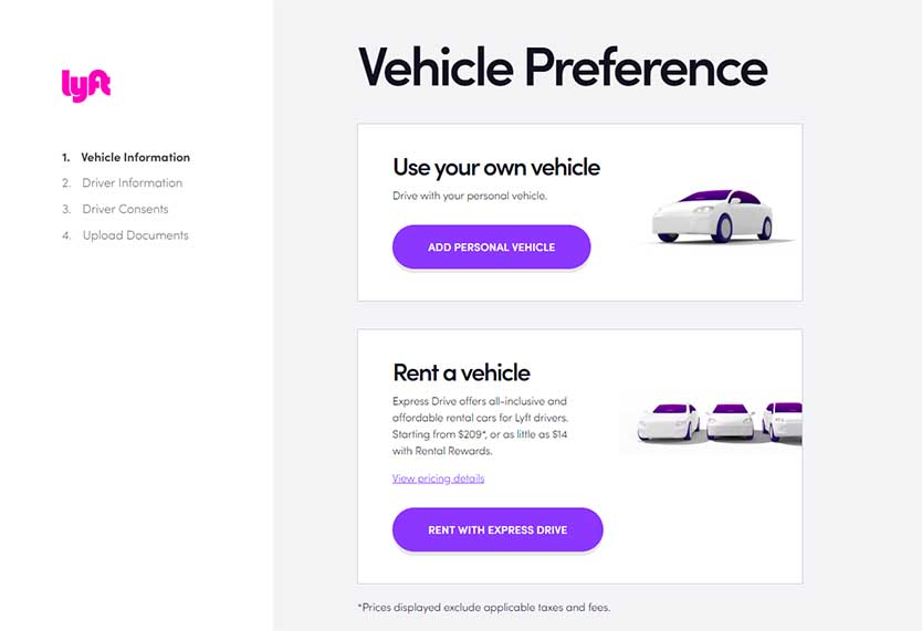 Lyft Car Rental >> Lyft Application Guide What You Need To Know