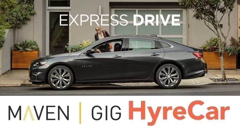 Lyft Car Rental >> Lyft Car Rental Leasing Lyft Express Drive Maven Or Hyrecar