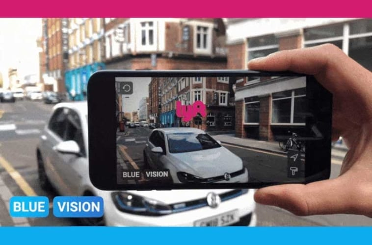 Lyft buys Blue Vision