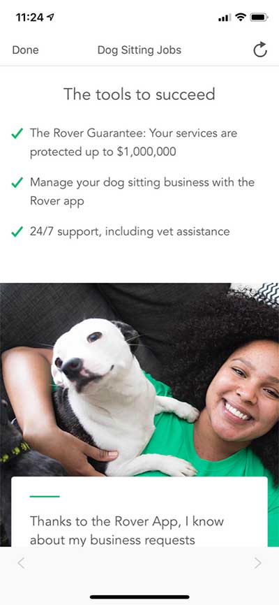 Rover pet sitter guarantee