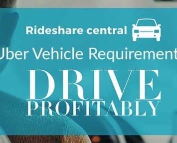 Uber vehicle requirements