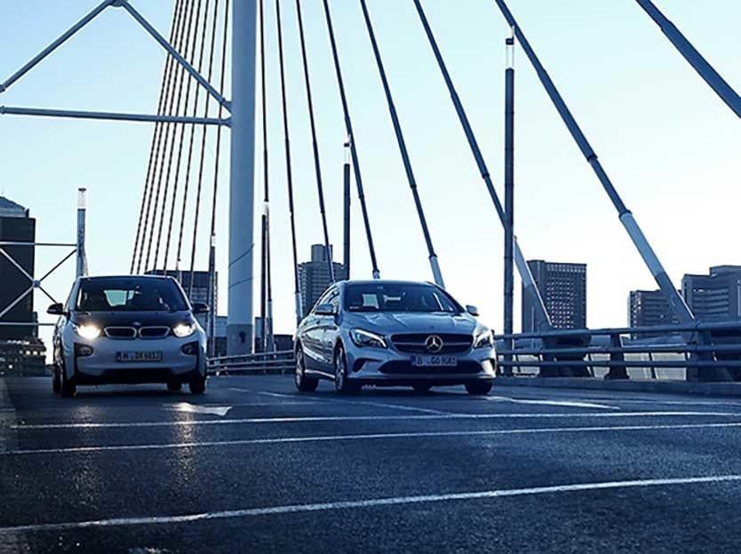 Daimler Bmw rideshare venture
