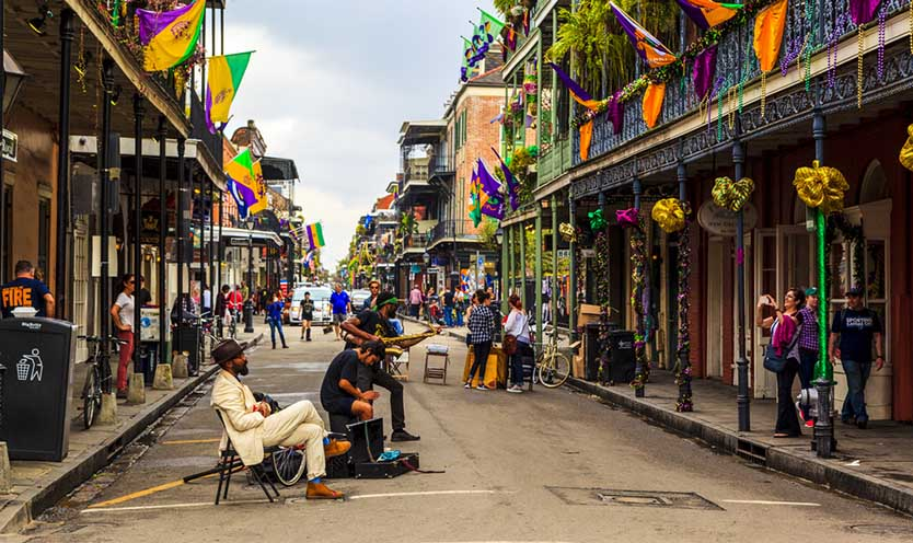 drive with Lyft New Orleans French Quarter