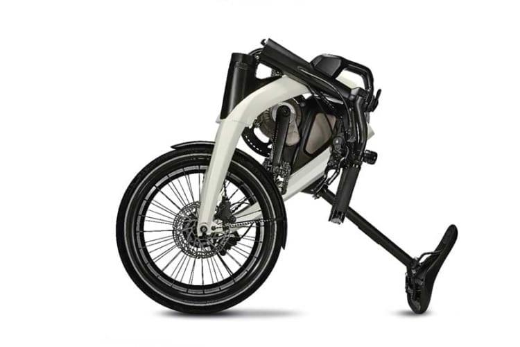 GM electric foldable bike