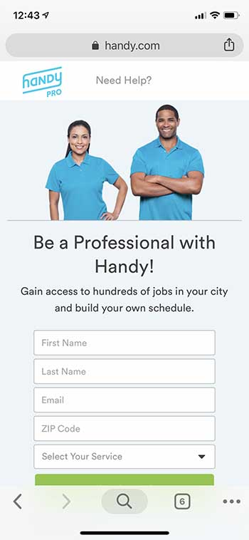 Handy Pro Handyman application