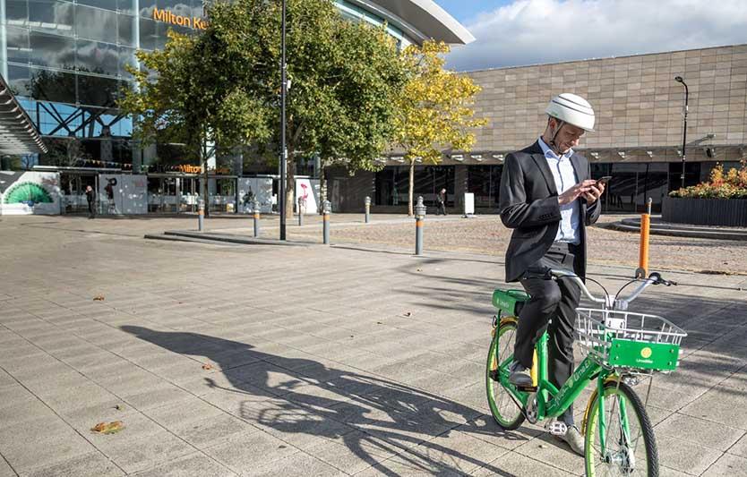 Lime U.K. Bike