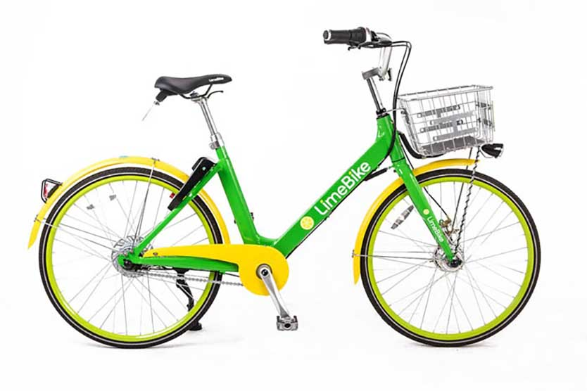 Limebike rental 3 speed