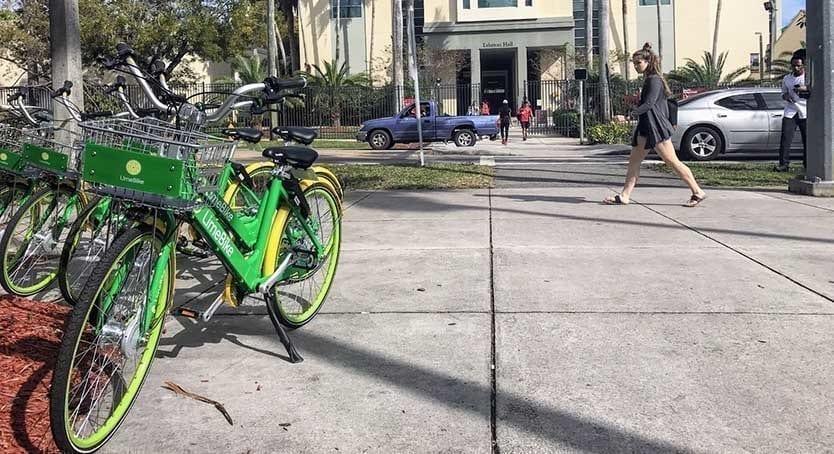limebike dockless bikes