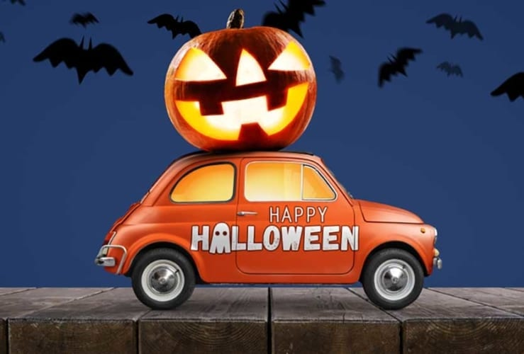 uber driving halloween tips