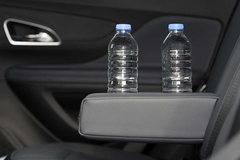 Lyft and Uber passenger water