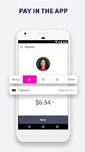 Uber vs. Lyft - Lyft rider app 4