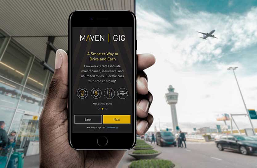 Maven Gig - Uber, Lyft, Postmates And Doordash Rental Cars