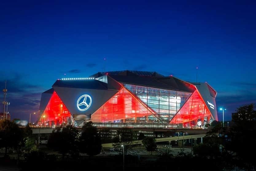 Mercedes Benz Stadium Atlanta - Super Bowl XIII