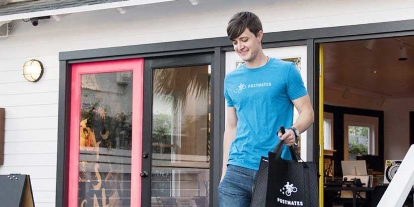 Postmates courier