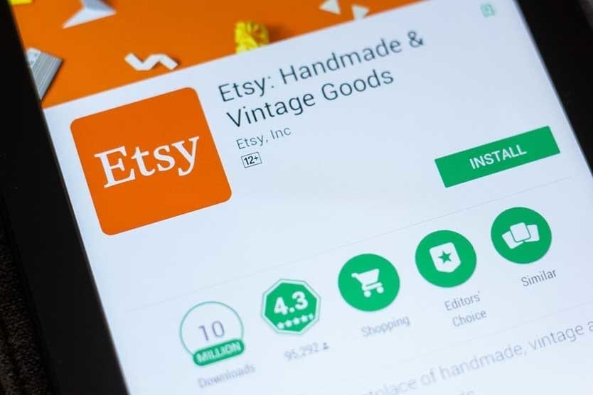 Etsy - Popular Side Hustle