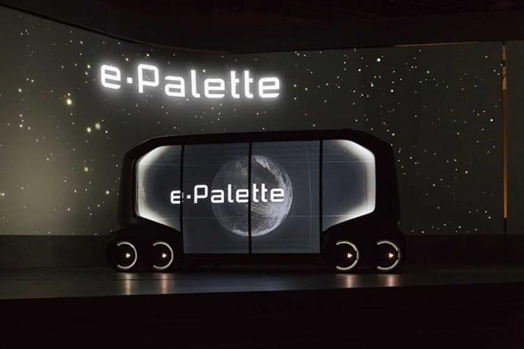 toyota e-palette mobility