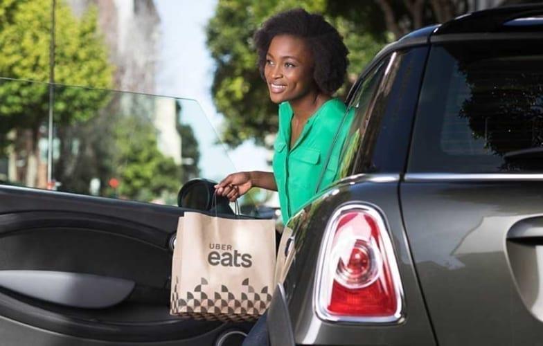 uber eats driver