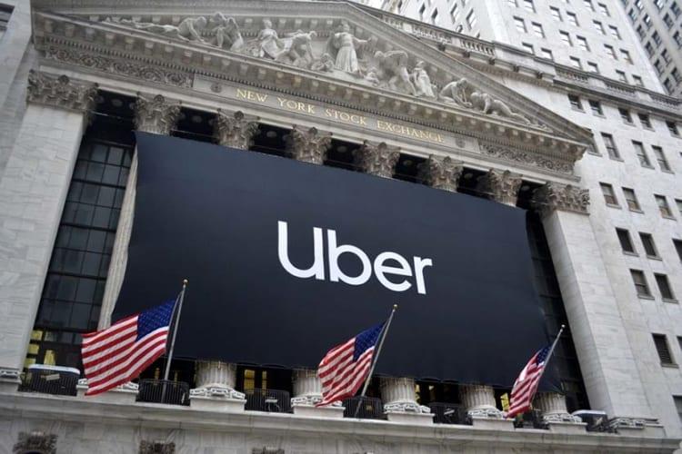 Uber stock falls