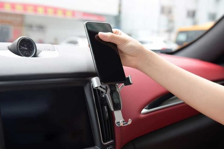 Phone mount for Uber and Lyft drivers