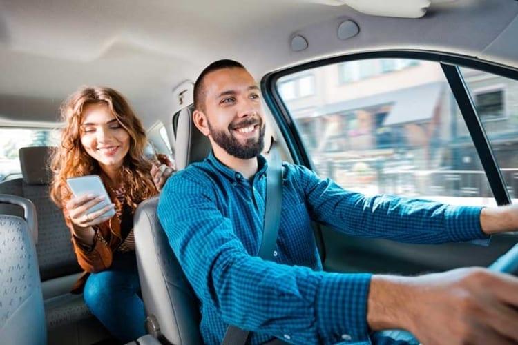 Via, Lyft, and Uber driver tips.